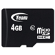Team 4GB Micro SDHC Class 10 Flash Card with Adaptor