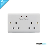 Energenie Home Automation Mi|home Smart Double White Socket Miho007 - Tgt01