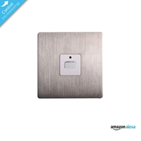 Energenie Home Automation Mi|home Smart Single Steel Light Switch Miho026 - Tgt01