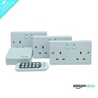 Energenie Home Automation Mi|home Smart White Socket Bundle Miho038 - Tgt01