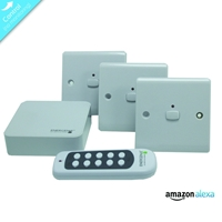 Energenie Home Automation Mi|home Smart White Switch Bundle Miho050 - Tgt01