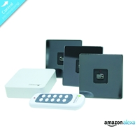 Energenie Home Automation Mi home Smart Nickel Switch Bundle Miho051 - Tgt01