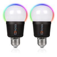 Veho Kasa Vkb-006-e27tp Bluetooth Smart Led Light Bulb E27 Twin Pack Vkb-006-e27tp - Tgt01