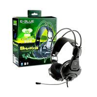 E-blue Ehs926bkaa Cobra 926 Black 3.5mm Gaming Headset Ehs926bkaa-iy - Tgt01
