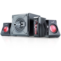 Genius Swg21 2.1 Gaming Speakers 38w 31731018100 - Tgt01