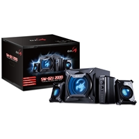 Genius Gx Gaming Sw-g2.1 2000 45w 2.1 Channel Gaming Speaker System 31731055100 - Tgt01