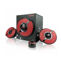 Hipoint Gaming 2.1 Speaker With Bluetooth & Led Remote Control Sphb-gx9201 - Tgt01