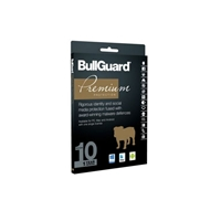 Bullguard Premium Protection 2017 1 Year/10 Device 10 Pack Multi Device Retail License English