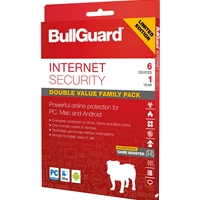 Bullguard Limited Edition Internet Security 1year/6 Device Multi Device Retail License English Bg1831sin - Tgt01