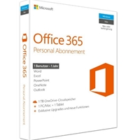 Office 365 Personal English Eurozone Subscription 1yr Medialess P2 Qq2-00543 - Tgt01