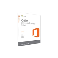 Microsoft Office 2016 Home & Business 32/ 64-Bit English Medialess PKC Software