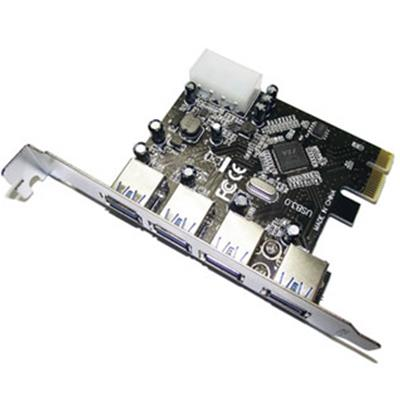 Superspeed USB3.0 4 Port PCI-Express Retail Packed
