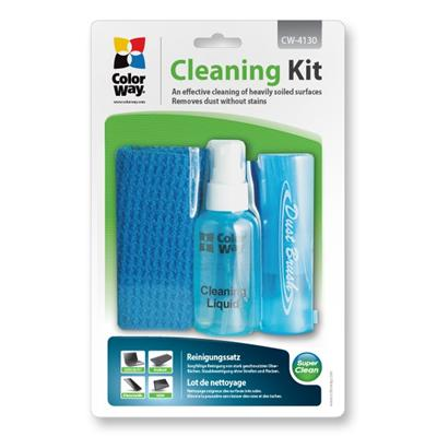 ColorWay 3 in 1 Cleaning Wipes Spray and Brush Set
