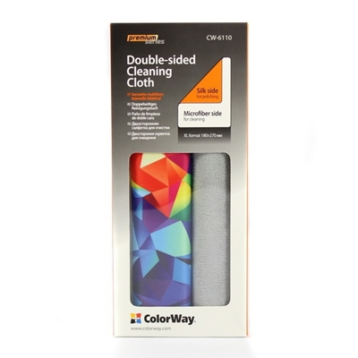 ColorWay Double-Sided Premium Cleaner Cloth