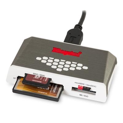 Kingston USB 3.0 High-Speed External Media and Card Reader