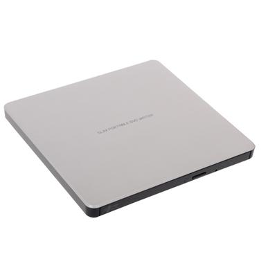 Hitachi-LG GP60NS60 8x DVD-RW USB 2.0 Silver Slim External Optical Drive