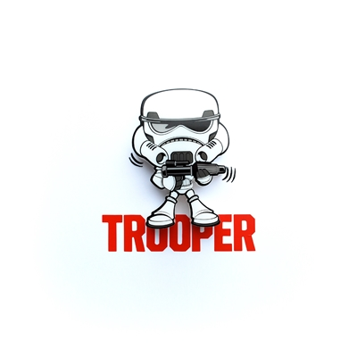 Storm Trooper 3D Mini Wall Light