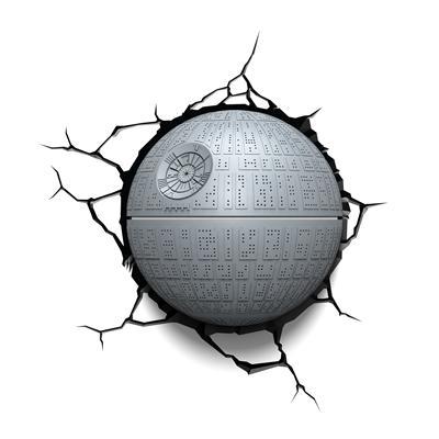 Star Wars 3D Deco Wall Light - Death Star