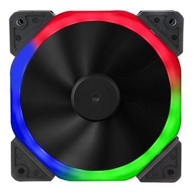 Target Halo Dual Ring 120mm 1100RPM RGB LED OEM Fan
