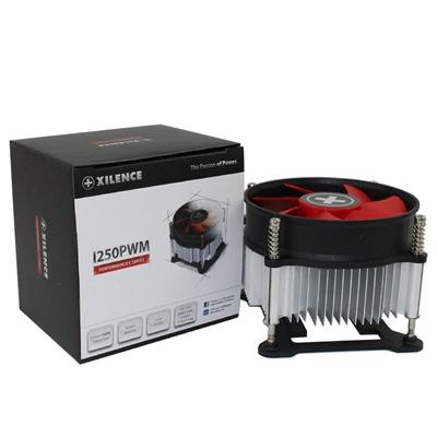 Xilence XC032 Intel Socket 92mm PWM 2500RPM Red Fan CPU Cooler
