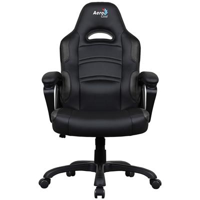 Aerocool AC80C Air Black Gaming Chair with Air Technology & Unique Carbon Fibre Blend