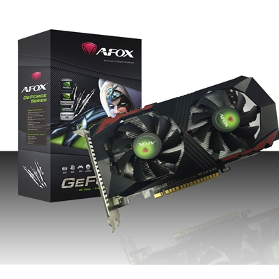 AFOX GeForce GTX1050TI 4GB 128bit GDDR5 PCI-E Graphics Card