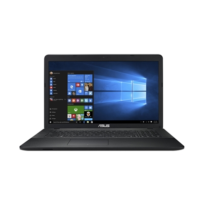 ASUS X751NA TY006T Intel Celeron N3350 1.1GHz 8GB 1TB HDD DVD-RW 1600 x 900 HD Resolution 17.3 Inch Laptop with HD Graphics 500 & Win 10 Home black texture