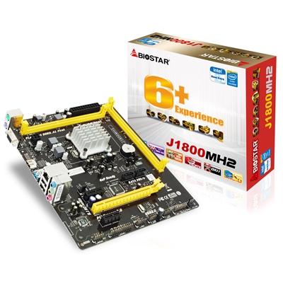 Biostar J1800MH2 Embedded Intel CPU Dual Core Celeron J1800 Micro ATX VGA/HDMI USB 3.0 Motherboard