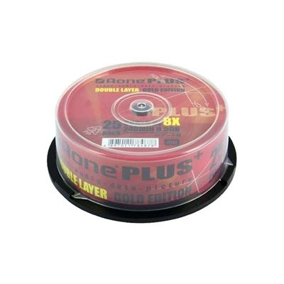 Aone DVD+R 8X 8.5GB Dual Layer 25PK Logo