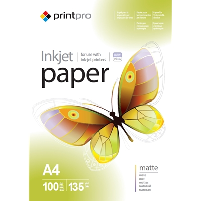 ColorWay Matte A4 135gsm Photo Paper 100 Sheets