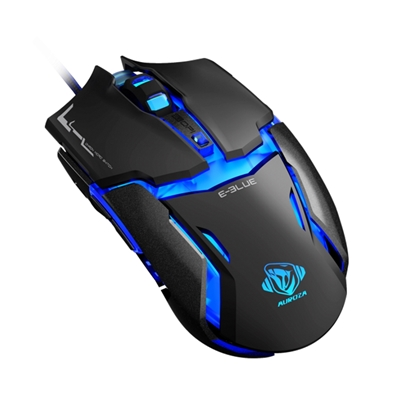 E-Blue EMS602BKAA Auroza Type-IM Black USB Wired Gaming Full Size Optical Mouse