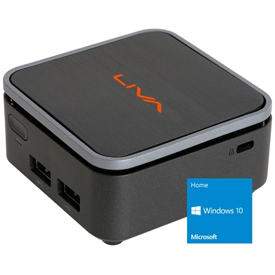 ECS EliteGroup LIVA Q2 Gemini Lake N4000 4GB RAM 32GB EMMC Windows 10 Home Micro PC with 4K Output