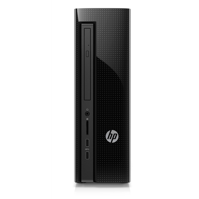 Refurbished HP Slimline Desktop 411 Intel Celeron Dual Core N3050, 4GB RAM, 1TB HDD