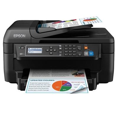 Epson WorkForce WF-2630WF Colour Wireless All-in-One Inkjet Printer