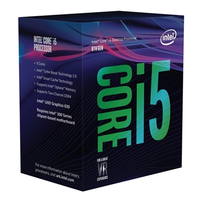 Intel i5 8400 Coffee Lake 2.8GHz Six Core 1151 Socket Processor