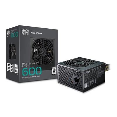 Cooler Master MasterWatt Lite V2 230V 600W ATX Silent 120mm HDB Fan 80 Plus PSU