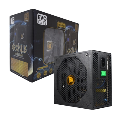Cronus 850W 140mm FDB Silent Fan 80 PLUS Bronze Semi Modular PSU