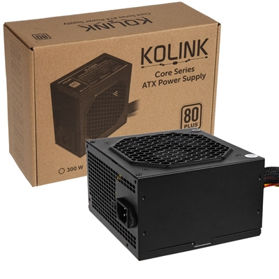 Kolink Core Series 600W 120mm Automatic Control Fan 80 PLUS Certified PSU