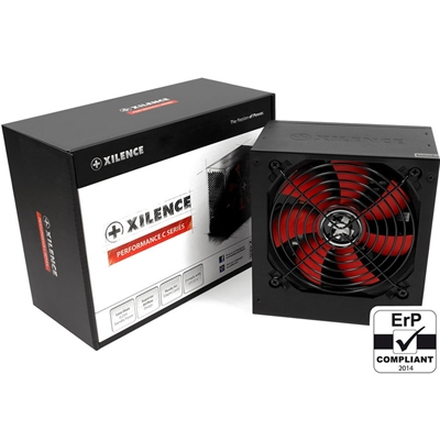 Xilence Performance C 400W 120mm Red Silent Fan PSU
