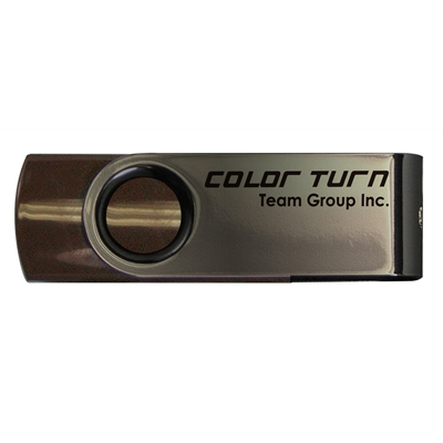 Team Turn 8GB USB 2.0 Brown USB Flash Drive