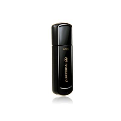 Transcend JetFlash 4GB USB 2.0 Black USB Flash Drive