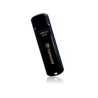 Transcend JetFlash 8GB USB 3.0 Black USB Flash Drive