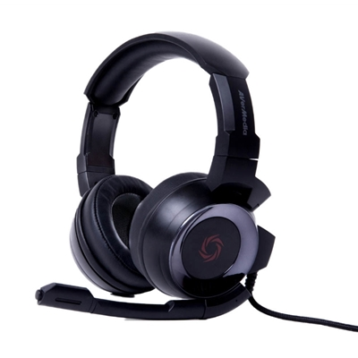 AVerMedia SonicWave GH335 Black Gaming Headset