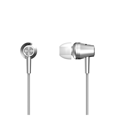 Genius HS-M360 In-Ear Headphones Metalic Silver