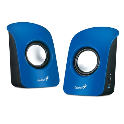 Genius SP-U115 Stereo USB Powered Speakers Blue