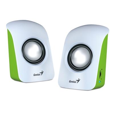 Genius SP-U115 Stereo USB Powered Speakers White