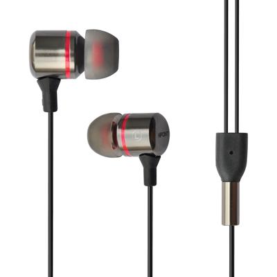 Hipoint EPH-M100 In-Ear 3.5mm Steel Headphones