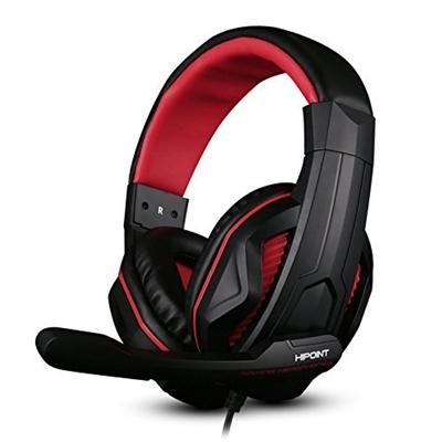 HiPoint X2-Red Extreme Gaming Headset With Mic & In-line Volume Control For PS4 Mobiles Laptops and PCs