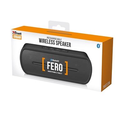 Trust 21704 Fero Wireless Black Bluetooth Speaker