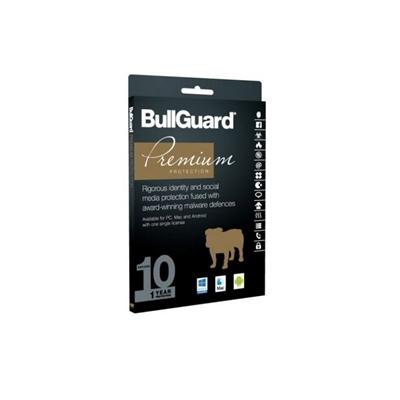 Bullguard Premium Protection 2017 1 Year/10 Device Single Multi Device Retail License English